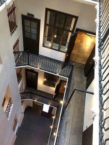 Mozart House Vienna: historic courtyard