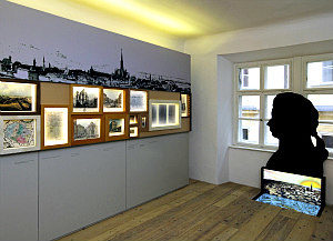 Mozart House Vienna: exhibition room