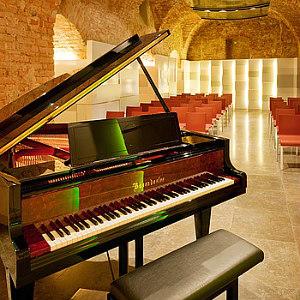Mozarthaus Vienna: Boesendorf hall with piano