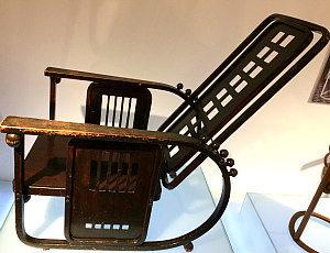 Fin de Siecle Vienna: Josef Hoffmann's rocking chair