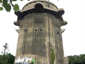 Hitler in Vienna: FLAK tower Augarten