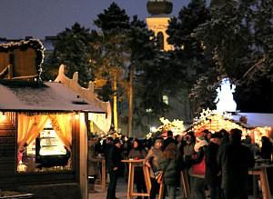Vienna Christmas market at Altes AKH (Former General Hospital)