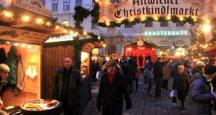 Vienna Christmas market on Freyung