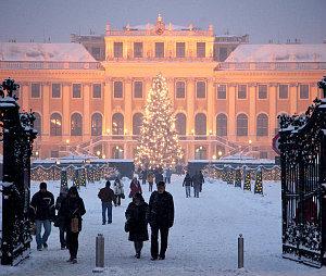 Vienna Christmas Market Schonbrunn Palace