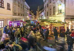 Vienna Christmas market at Spittelberg, Vienna