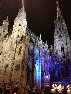 Vienna Christmas Market at St. Stephen's Cathedral