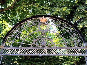 Vienna Zoo Schonbrunn: entrance gate