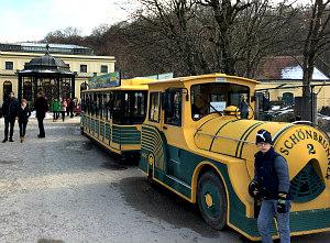 Vienna Zoo Schonbrunn: panorama train