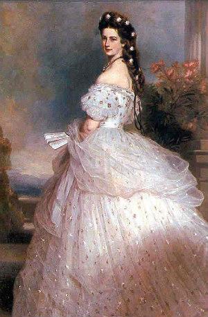 Kaiserin Sissi: Porträt von Franz Xaver Winterhalter
