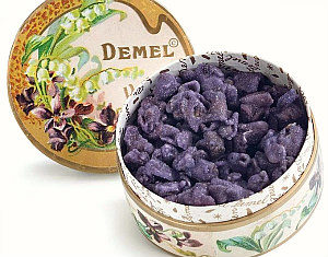 Empress Sissi's candied violets by Demel