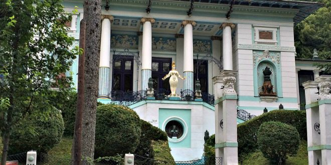 Otto Wagner Villa and Ernst Fuchs Museum