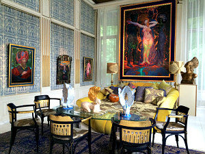 Otto Wagner Villa: Blue Salon