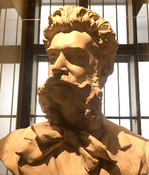 Johann Strauss II bust