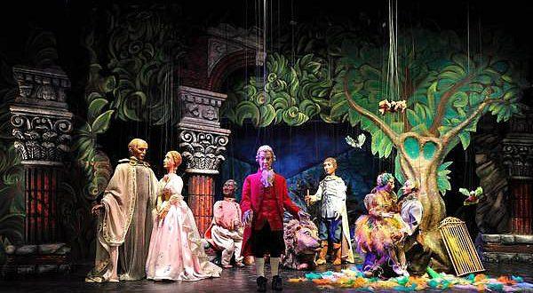 Marionette Theater Vienna in Schonbrunn