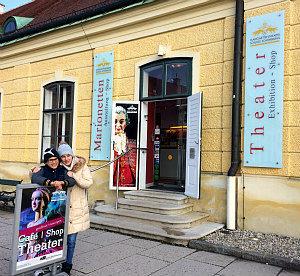 puppets theatre Vienna in Schonbrunn