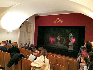 Puppets Theatre Vienna: auditorium