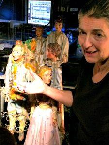 Puppet Theatre Vienna: backstage tour