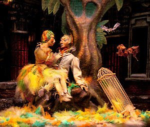 Puppets Theatre Vienna: Papageno and Papagena