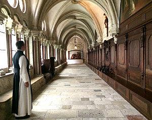 Cistercian abbey Heiligenkreuz: cloister