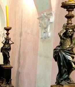 Cistercian abbey Heiligenkreuz: dancing deaths