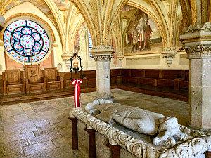 Cistercian abbey Heiligenkreuz: chapter hall
