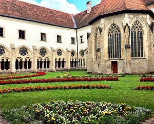 Cistercian Abbey Heiligenkreuz: cloister garden