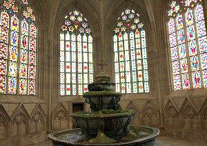 Cistercian Abbey Heiligenkreuz: fountain house
