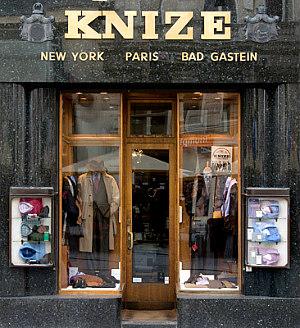 Adolf Loos Vienna: Knize store front