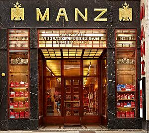 Adolf Loos Vienna: Manz bookstore