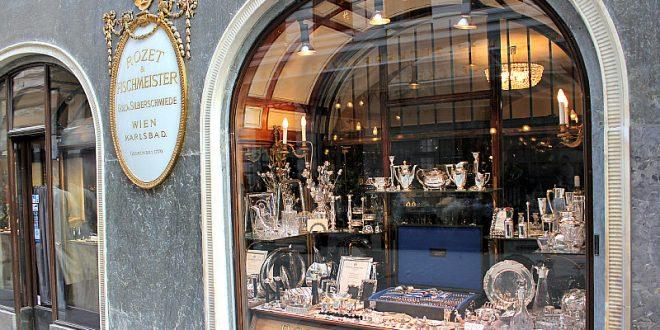 Vienna culture shopping: Rozet und Fischmeister silverware