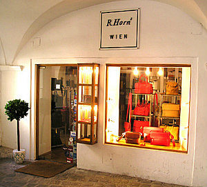 Vienna Culture shopping: R. Horns