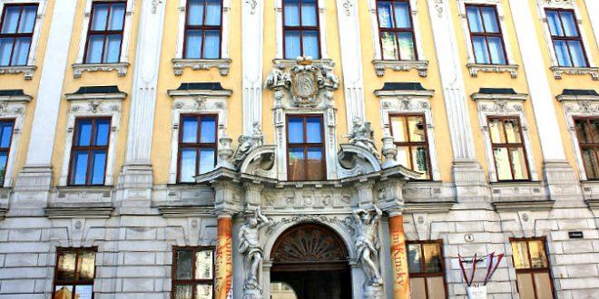 baroque architecture in Vienna: Palais Kinski