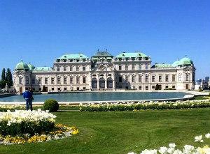 baroque architecture in Vienna: Belvedere Palace