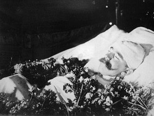 Mayerling incident: photo of crown prince Rudolph after suicide