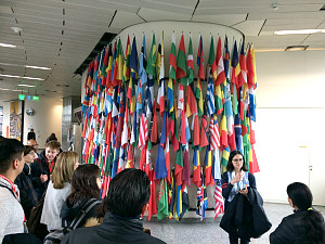 United Nations headquarters Vienna: guided tour