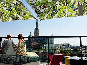 Best bars in Vienna: Lamee Rooftop