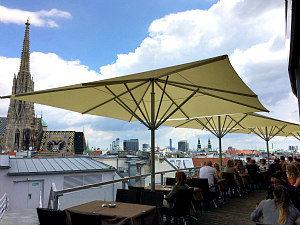 Best Bars in Vienna: Sky Bar roof terrace