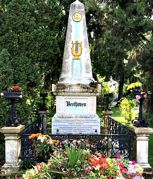 Beethoven in Vienna: grave, Central Cemetery