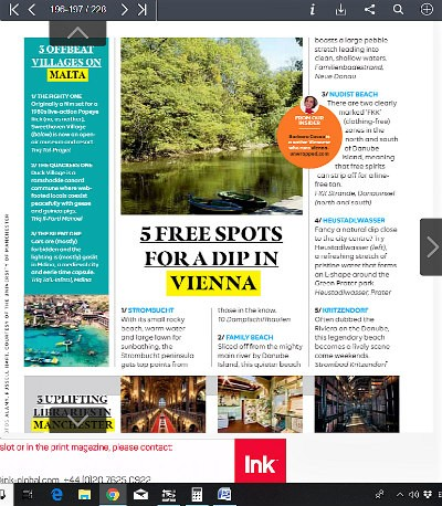Media Mentions: Vienna Unwrapped in easyJet Traveller