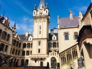Grafenegg Castle, courtyard
