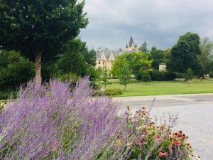 Grafenegg castle grounds