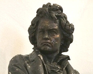 Beethoven statue in Vienna
