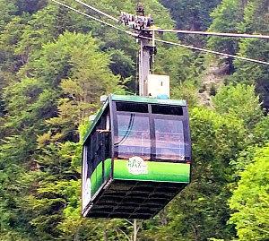 Vienna Alps: Rax funicular