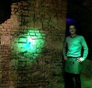 Porta Dextra wine cellar