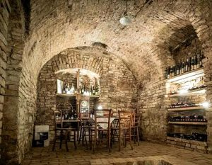 Viennese wine cellar