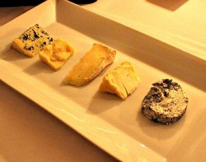 cheese selection at restaurant Walter Bauer