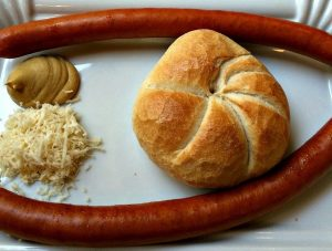 Vienna sausage varieties: Sacherwuerstel