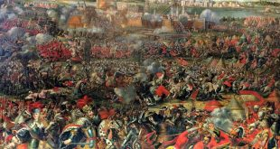 painting of Battle of Vienna 1683