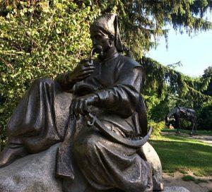 Monument of Ukrainian Kossack in Vienna