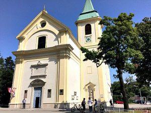 church St, Joseph with Sobieski chapel in Vienna